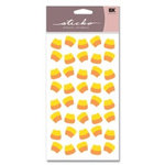 EK Success - Sticko Classic Stickers - Halloween - Candy Corns, CLEARANCE