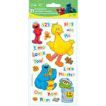 EK Success - Sesame Street Collection - 3 Dimensional Puffy Stickers - Sesame Street
