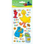 EK Success - Sesame Street Collection - 3 Dimensional Puffy Stickers - Sesame Street