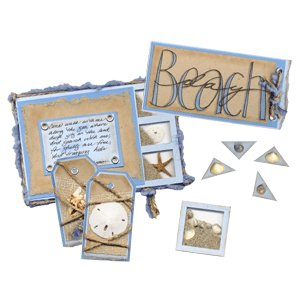 E-Kit Elements (Digital Scrapbooking) - Beach Day