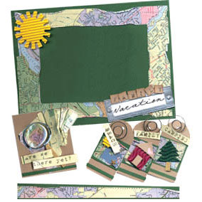 E-Kit Elements (Digital Scrapbooking) - Family Vacation