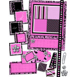 E-Kit Elements (Digital Scrapbooking) - Live Love Laugh Smile