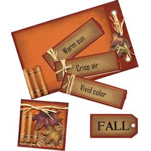E-Kit Elements (Digital Scrapbooking) - Signs of Autumn 1