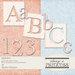 Digital Element Kit -  Afternoon Fiesta - Alphabet