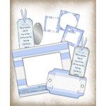 E-Kit Elements (Digital Scrapbooking) - Baby Blue 1