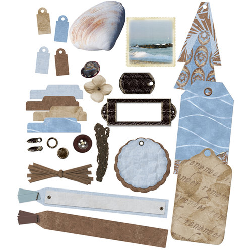 E-Kit Elements (Digital Scrapbooking) - Chilly Beach 1