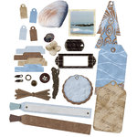 E-Kit Elements (Digital Scrapbooking) - Chilly Beach 1