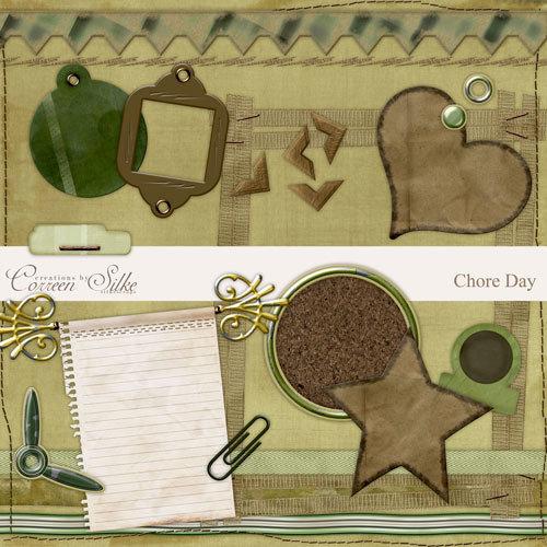 Digital Element Pack - Chore Day