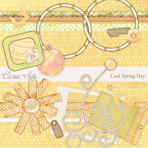 Digital Element Kit - Cool Spring Day