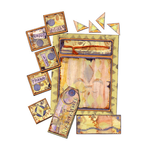 E-Kit Elements (Digital Scrapbooking) - Delight Elements 1