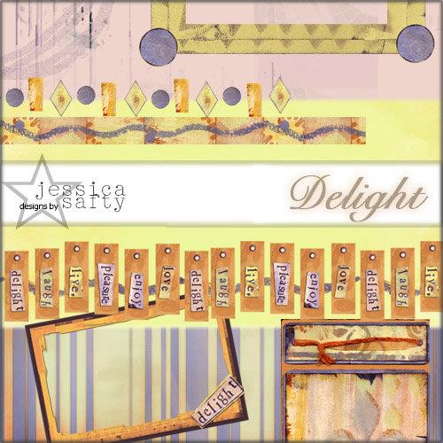 E-Kit Elements (Digital Scrapbooking) - Delight Elements 3