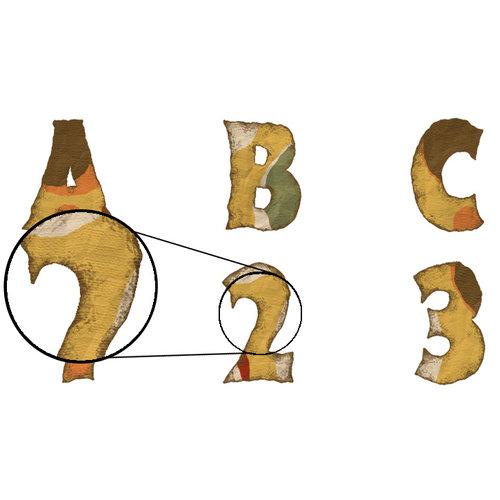 Digital Element Kit - Fall Frolic - Alphabet