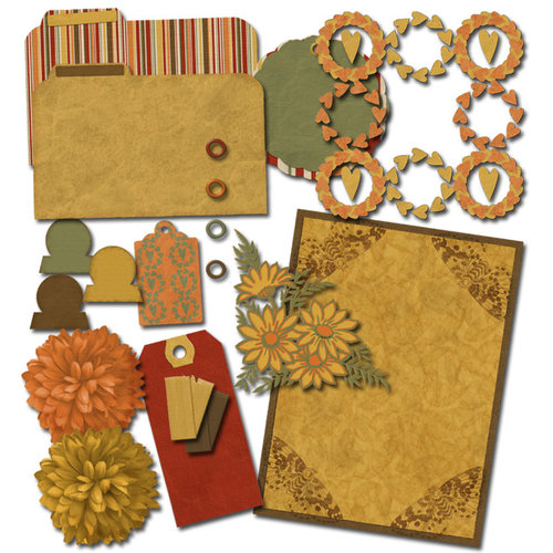 Digital Element Kit - Fall Frolic