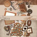 E-Kit Elements (Digital Scrapbooking) - Honor 2