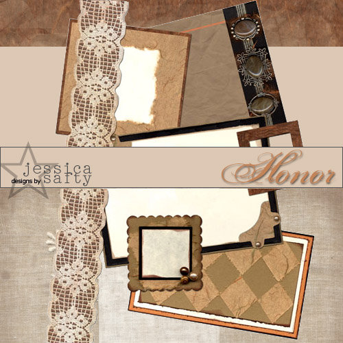 E-Kit Elements (Digital Scrapbooking) - Honor 3