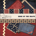 E-Kit Elements (Digital Scrapbooking) - Home of the Brave 6