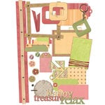 E-Kit Elements (Digital Scrapbooking) - Softly Summer