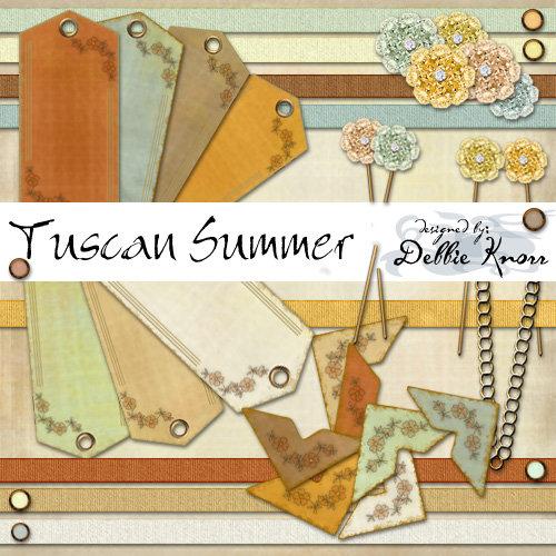 Digital Element Kit - Tuscan Summer