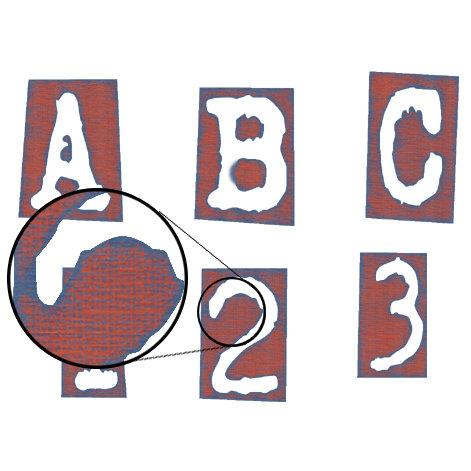 Digital Element Kit - Little Dude - Alphabet