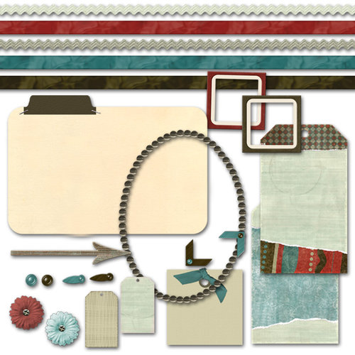 Digital Element Kit - Moments In Time