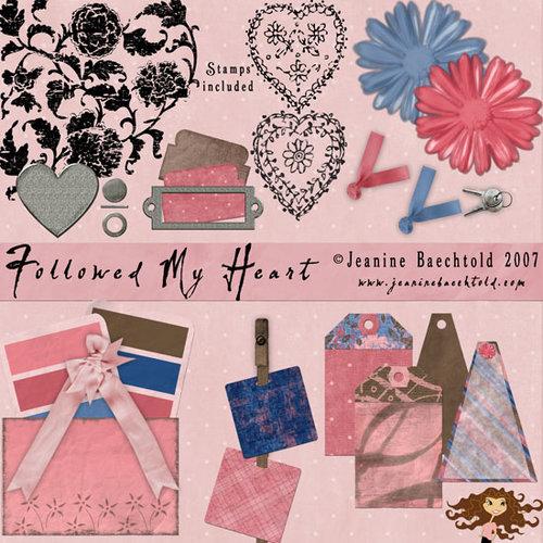 Digital Element Pack - Followed My Heart