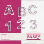 Digital Element Kit - Sassy - Alphabet