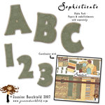 Digital Element Kit - Sophisticate - Alphabet