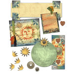 E-Kit Elements (Digital Scrapbooking) - Sunset Elements 2