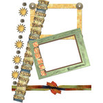 E-Kit Elements (Digital Scrapbooking) - Sunset Elements 3