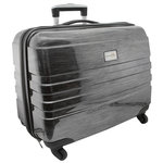 Everything Mary - Hard Side Rolling Sewing Case - Silver