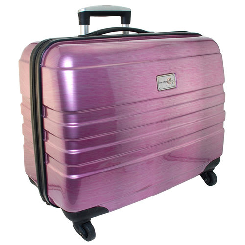Everything Mary - Hard Side Rolling Sewing Case - Pink