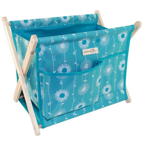 Everything Mary - Fold Up Yarn Caddy - Blue