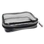 Everything Mary - Clear Plastic Zip Accessory Bag - Three