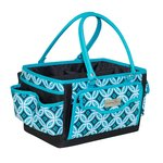 Everything Mary - Deluxe Papercraft Organizer - Black and Teal