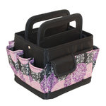 Everything Mary - Desktop Scrapbook Organizer - Purple and Black