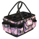 Everything Mary - Deluxe Scrapbook Organizer - Purple and Black