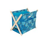 Everything Mary - Folding Knitting Caddy - Royal Blue