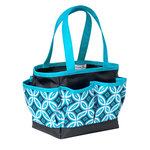 Everything Mary - Mini Crafters Tote - Black and Teal