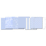 E-Kit Papers (Digital Scrapbooking) - Baby Blue