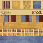 E-Kit Papers (Digital Scrapbooking) - School