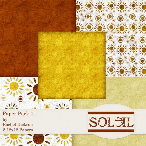 E-Paper Kit -  Soleil 1