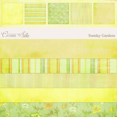 E-Paper Kit - Sunday Gardens 1