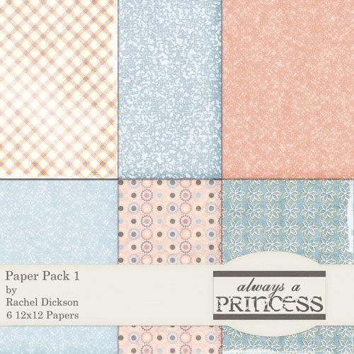 E-Paper Kit - Always A Princess 1