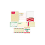 Elle's Studio - Be Merry Collection - Christmas - Journaling Tags