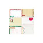 Elle's Studio - Be Merry Collection - Christmas - 4 x 6 Journaling Tags