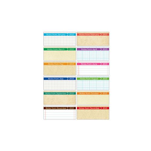 Elle's Studio - Tags - 2013 Tiny Calendars