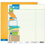 Elle's Studio - Cameron Collection - 12 x 12 Double Sided Paper - The Best