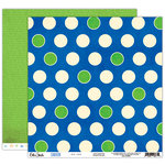 Elle's Studio - Cameron Collection - 12 x 12 Double Sided Paper - Big Dots