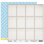 Elle's Studio - Cameron Collection - 12 x 12 Double Sided Paper - Evidence