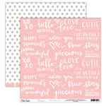 Elle's Studio - Cienna Collection - 12 x 12 Double Sided Paper - Hello Beautiful